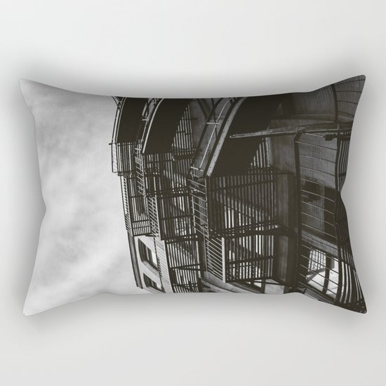 Brooklyn Architecture Rectangular Pillow