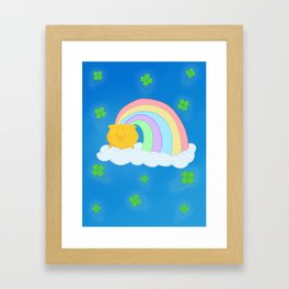 Lucky Rainbow Framed Art Print
