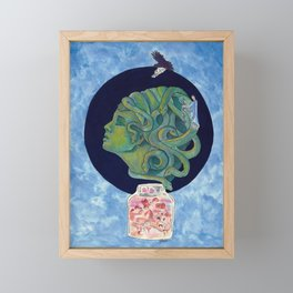 Asclepius' Path Framed Mini Art Print