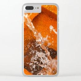 Ferrous water Clear iPhone Case
