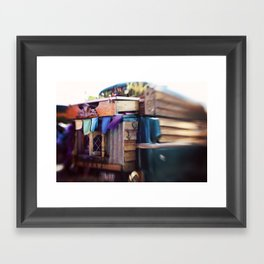 Gypsy Caravan Framed Art Print
