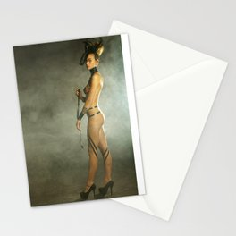 Woman Model Stationery Cards
