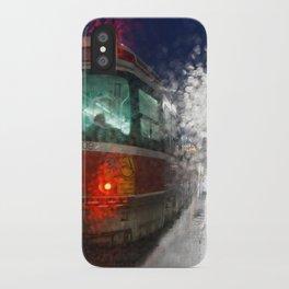 Rain Rider iPhone Case