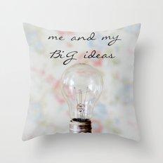 Big Ideas Throw Pillow