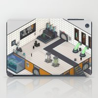 monster inc iPad Cases featuring Monster Labs Inc. by Allen Amin