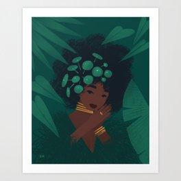Pilea Art Print