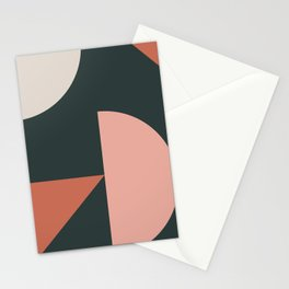 Orbit 04 Modern Geometric Stationery Cards