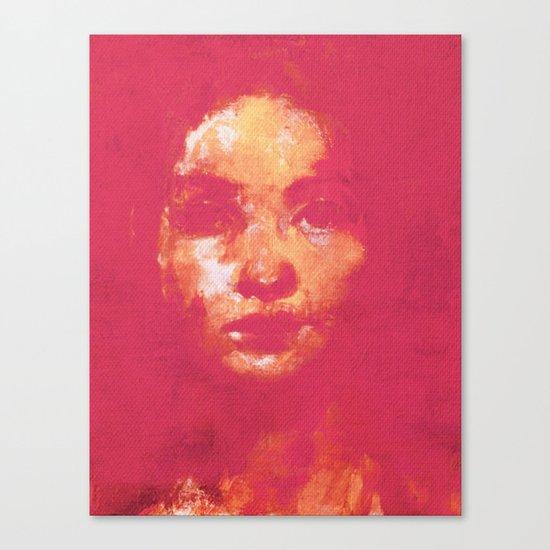 Colorful Woman 3 Canvas Print