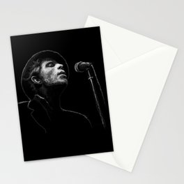 Tom Waits (scribble style) Stationery Cards