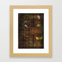 The Incomplete Collection Framed Art Print