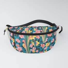 MELTED FLOWERS Fanny Pack