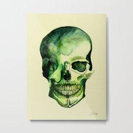 Painted Skull #1 Metal Print