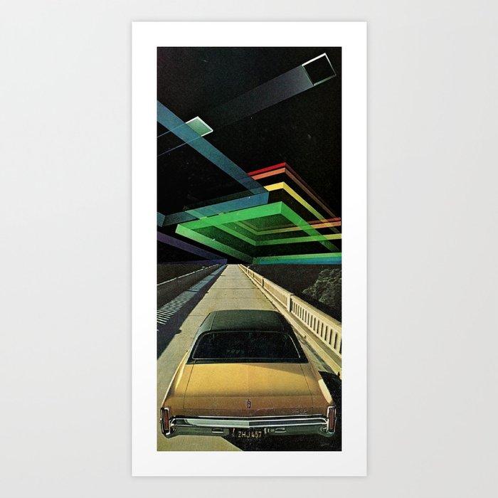 no cars go... Art Print