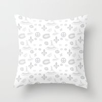 montreal Throw Pillows featuring montreal  by meli_lebain