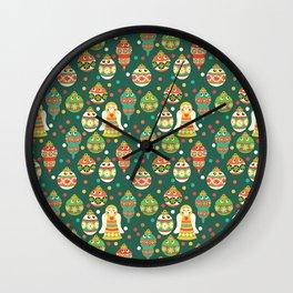 Trim The Christmas Tree Wall Clock