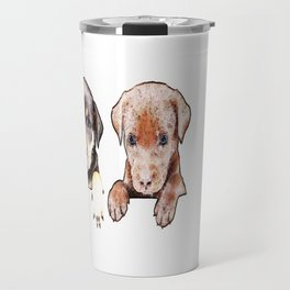 cachorros ( puppies  ) Travel Mug