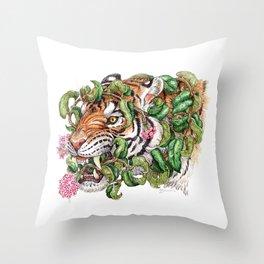Tenuous Restraint Throw Pillow