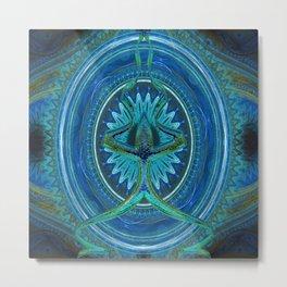 Workings Kaleidoscope Metal Print