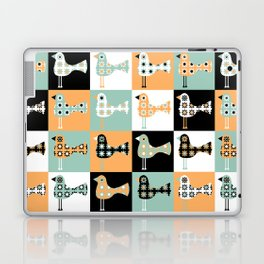 Little Leggy Flowerbirds Laptop & iPad Skin