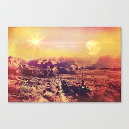 Globetrotter Canvas Print