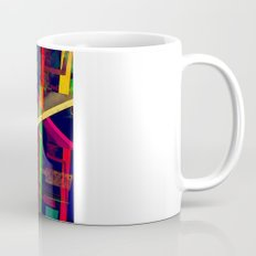 Industrial Abstract Green Coffee Mug