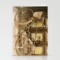 bicycle Stationery Cards featuring Bicycle by Gurevich Fine Art