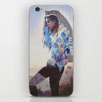 wanderlust iPhone & iPod Skins featuring Wanderlust by Jenessa Peterson