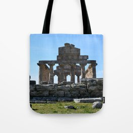 templi di paestum Tote Bag