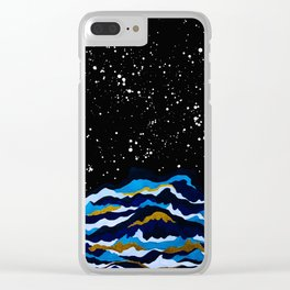Night of Storm Clear iPhone Case