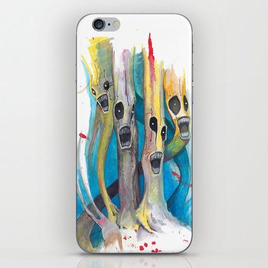 Barbershop Quartet of Evil Trees iPhone & iPod Skin