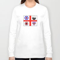 70s Long Sleeve T-shirts featuring Brit music 60s 70s by MasterChef-FR