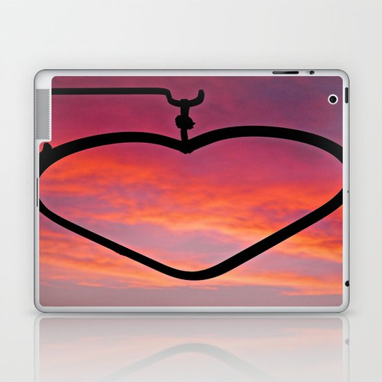 Love Sunset Laptop & iPad Skin