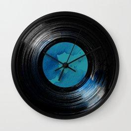 vinyl drip Wall Clock
