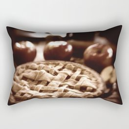 Old Fashioned Apple Pie Rectangular Pillow