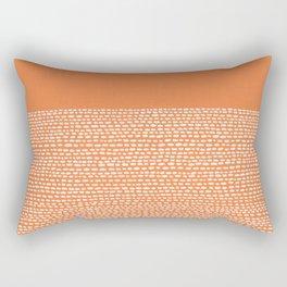 Riverside - Celosia Orange Rectangular Pillow