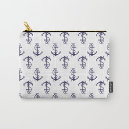 Anchor Pattern Carry-All Pouch