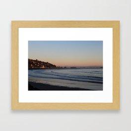 Sunrise at Sumner Beach Framed Art Print