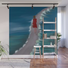 Escaping To The Beach Wall Mural