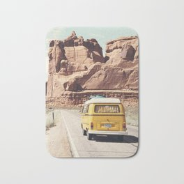 Going on a road trip Bath Mat