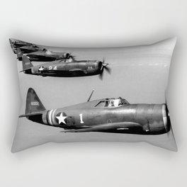 P-47 Thunderbolt Rectangular Pillow