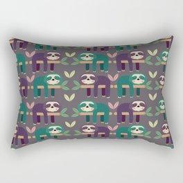 Sloth pattern Rectangular Pillow