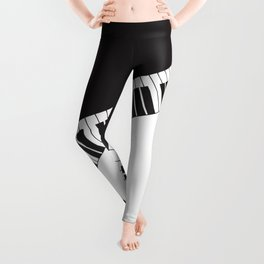 PIANO KEYS Pop Art Leggings