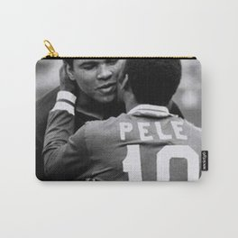 Pele Hero Muhammed Ali Clay Retro Carry-All Pouch