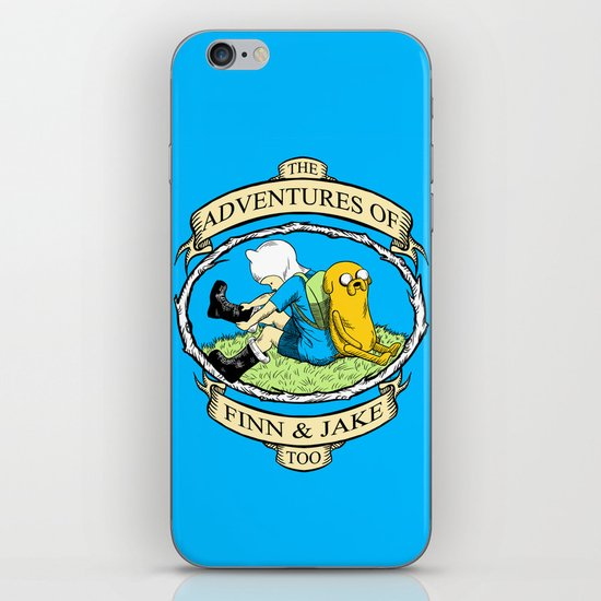 The Adventures of Finn & Jake, Too iPhone & iPod Skin
