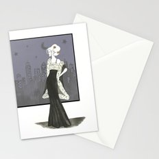 Passionate Women 2 Stars Stationery Cards