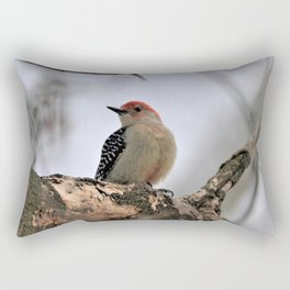 Red Bellied Woodpecker Rectangular Pillow