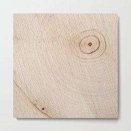 Real Wood Texture / Print Metal Print