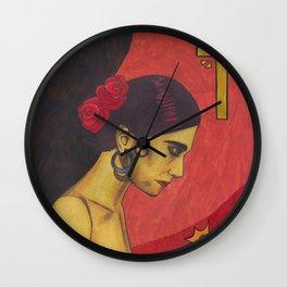 Surfer Rosa (Luxemburg) Wall Clock