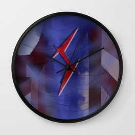 Hunters of Shadows: A Storm Is Coming Wall Clock