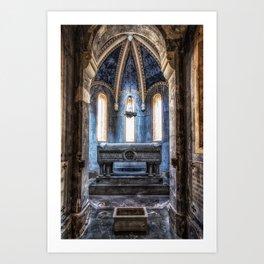 Certosa di Bologna Art Print